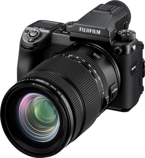 Fujifilm FUJINON GF45-100F4 R LM OIS WR with the Fujifilm GFX 50S