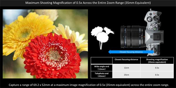 Olympus M.Zuiko Digital ED 12-45mm F4.0 PRO Lens + Olympus OM-D E-M5 Mark III, Silver, Camera: Image Courtesy of Olympus