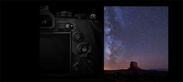 Olympus OM-D E-M1 Mark III: Starry Sky AF delivers revolutionary autofocus performance for astrophotography