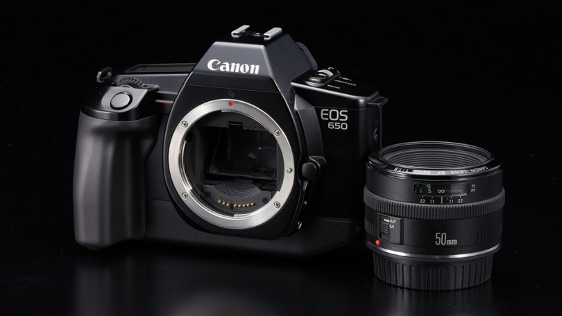 Canon EOS 650 35mm SLR with EF mount