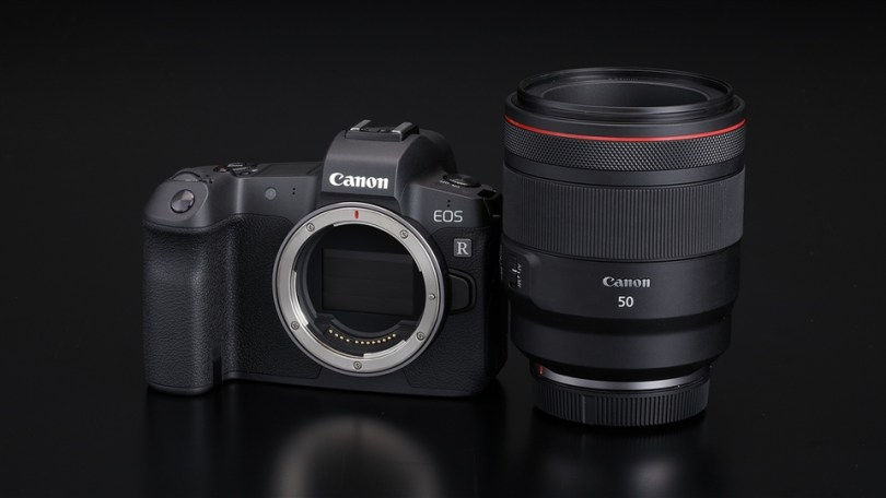 Canon EOS R Full-Frame Mirrorless camera with RF mount