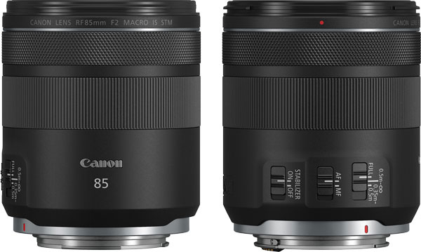 Canon RF85mm F2 MACRO IS STM