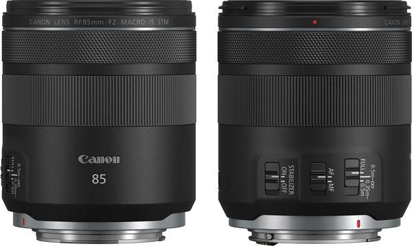 Canon RF85mm F2 MACRO IS STM