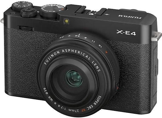 Fujifilm X-E4 with XF27mmF2.8 R WR