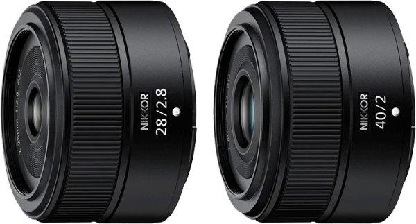 NIKKOR Z 28mm f/2.8 and NIKKOR Z 40mm f/2