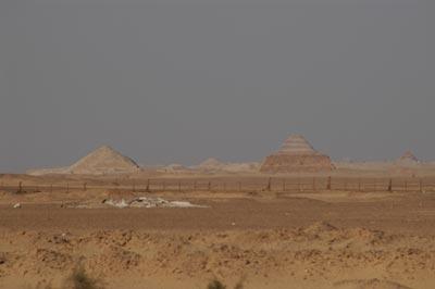 the pyramid field
