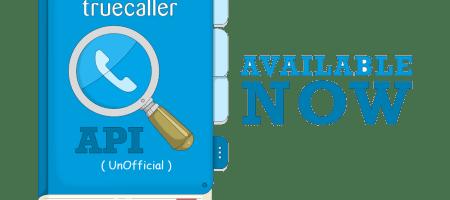 Truecaller API