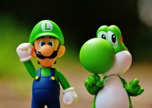 Luigi if mario brothers