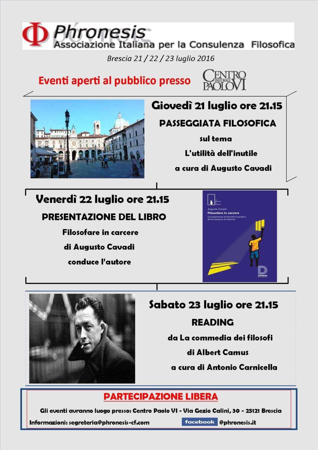Brescia 2016 phronesis