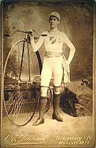 German high wheel racer