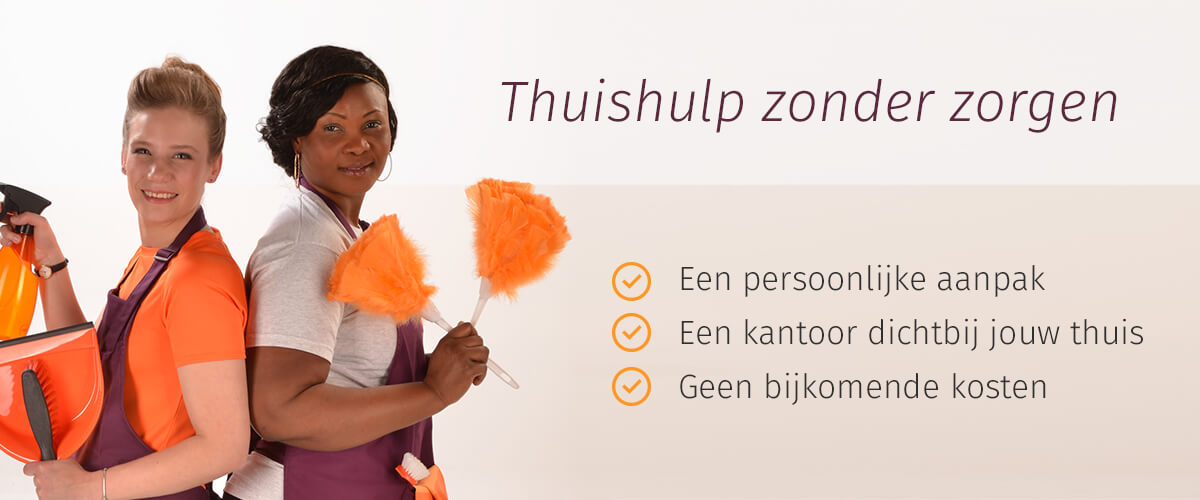 Thuishulp zonder zorgen via Plus Home Services