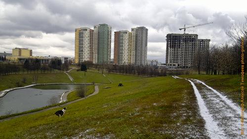 Виды парка Олимпийской деревни-80