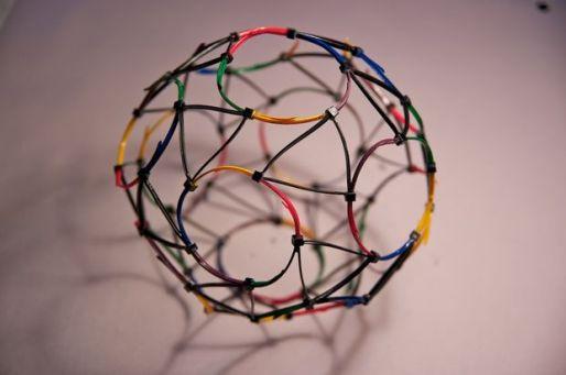 làm bóng bằng dây rút nhựa