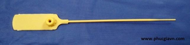 Seal đốt trơn khóa kim loại 21 cm