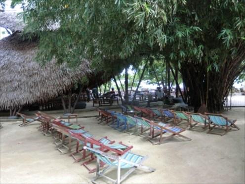 コーラル島 バナナビーチ ビーチチェアー