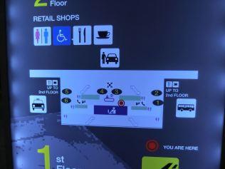 プーケット1階・到着階 / ミーティングポイントの図 / プーケット国際空港・新ターミナル空港・新ターミナル