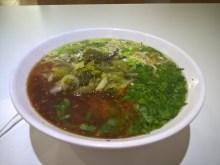 酸菜拉麺 /蘭州拉麺 / パトンビーチの中国式手打ちらーめん屋