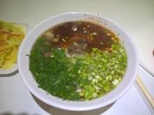 牛肉拉麺 /蘭州拉麺 / パトンビーチの中国式手打ちらーめん屋