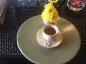 トリートメント終了後には暖かいお茶が提供されます。 / スワサナ スパ ( Swasana Spa )の体験レポート