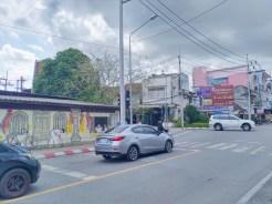 プーケットタウン・オールドタウン・記念写真のお勧めスポット(その6) / Krabi RdとPatipphat Rdの交差点・ブロック塀のウォールアート