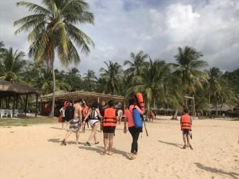 6.COCOビーチの観光(ヤオヤイ島) / カタマランで行く ピピ島+ココビーチ+マイトン島ツアーの紹介(その2)
