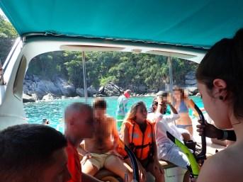 ラヤ島+コーラル島 (バナナビーチ)ツアーの紹介 (その1)