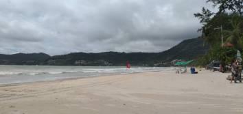 2020年09月11 日のプーケット島・パトンビーチの風景