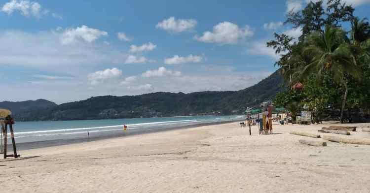 2020年09月01日のプーケット島・パトンビーチの風景
