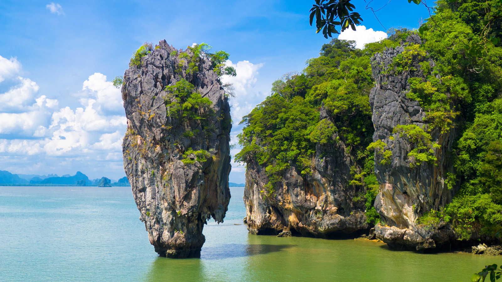 Sailing To Phang Nga In Thailand