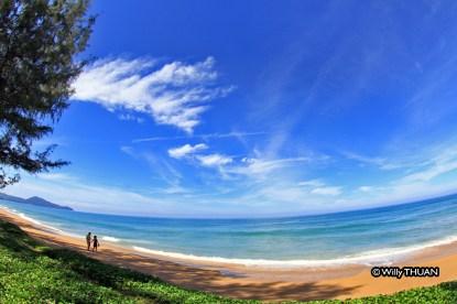 Mai Khao beach on Phuket west coast