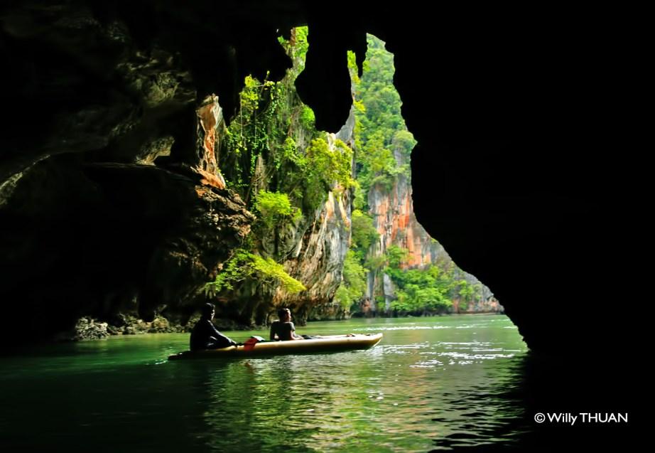 Kayaking Phang Nga Bay