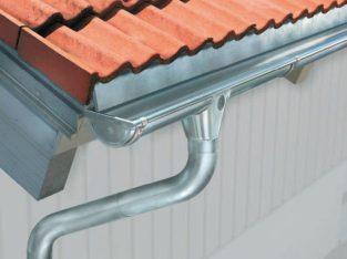 Zinc Gutter Installation