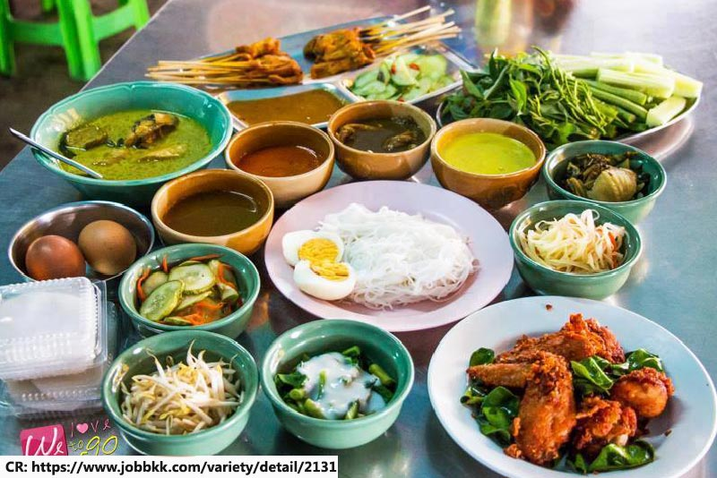 Kanom Jeen Phuket, Local food in phuket