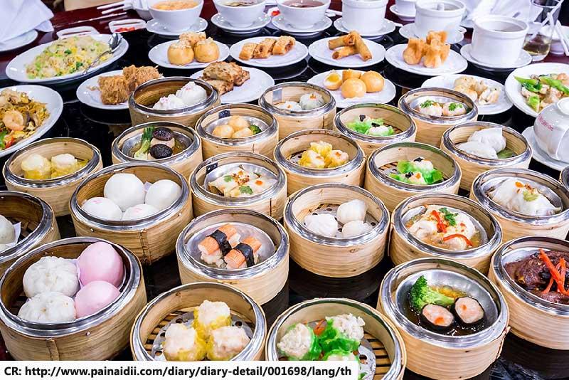 Dim Sum, Chinese fusion foods in Phuket