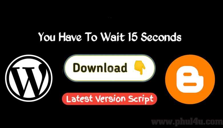 How To Add Download Timer in Blogger & WordPress