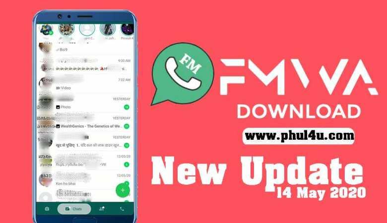 FMWhatsapp Phul4u APK v8.31 Download Latest Version (Anti-Ban) 2020