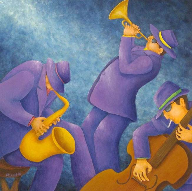 Cool jazz trio - Pamella Allegretto