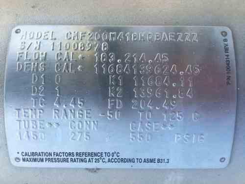 CHF200M418NQBAEZZZ 1 Equipment | 12276 | New Used and Surplus Equipment | Phoenix Equipment
