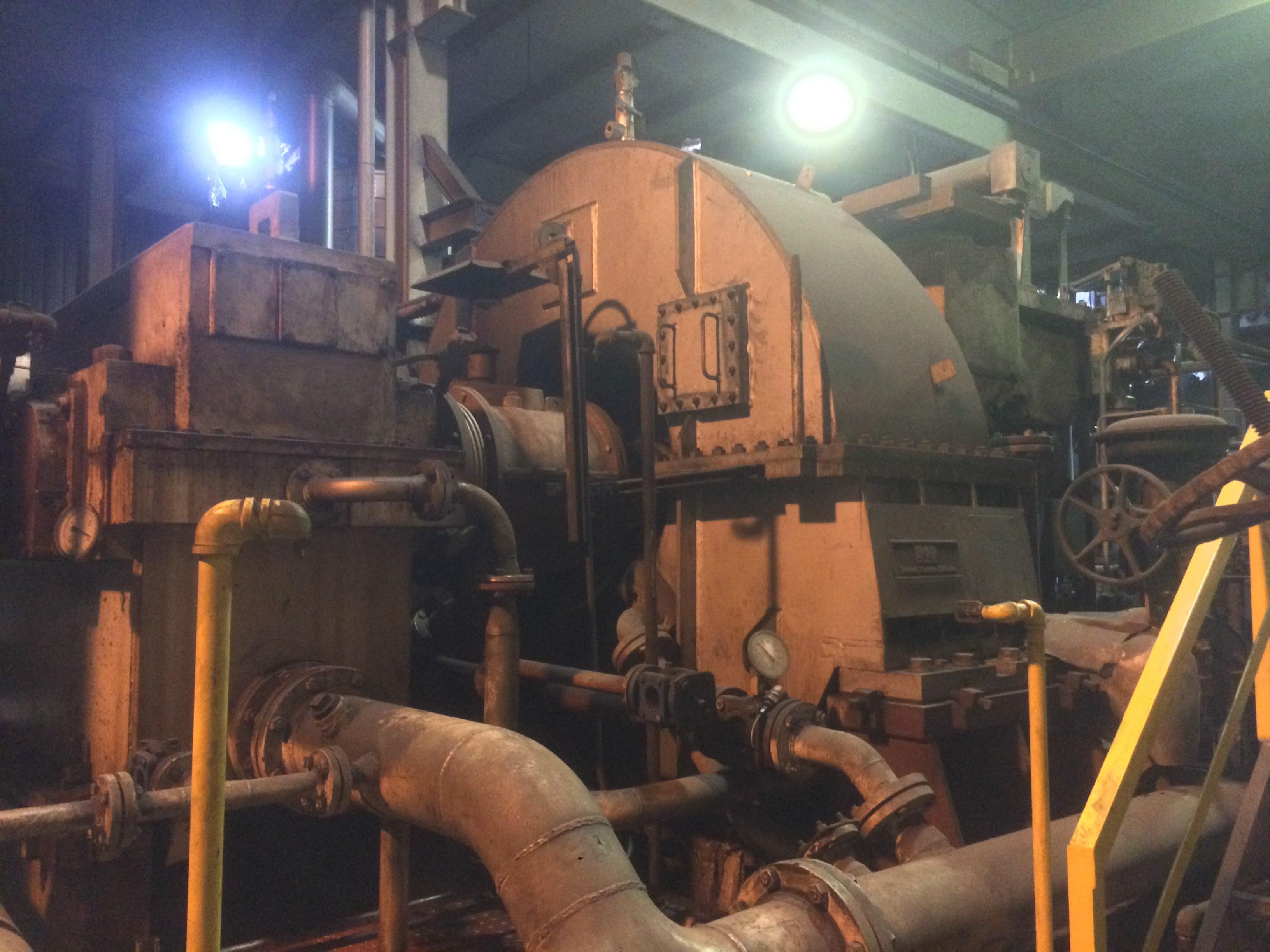 11 MW IMO Delaval Steam Turbine Generator  12124  New Used and Surplus Equipment  Phoenix