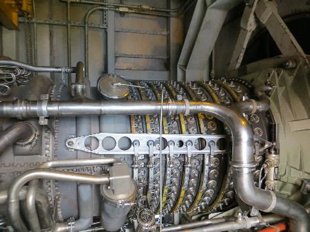 31 MW Cogeneration Power Plant with GE LM2500 Gas Turbine for Sale at Phoenix Equipment