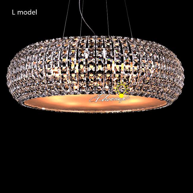 Modern Round Crystal Pendant Lighting 8714