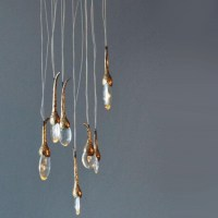 Ochre Seed Cloud Pendant Lighting 13796 : Free Ship