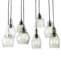 North Blown Glass Shade Pendant Lighting 11026 : Free Ship ...