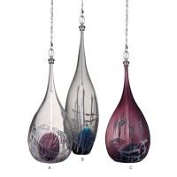 Modern Blown Colorful Glass Pendant Lighting 11897 : Free ...