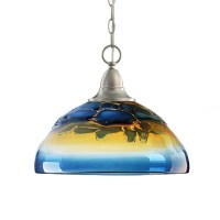 Modern Blown Colorful Glass Pendant Lighting 12166 ...