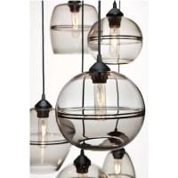 Hennepin Banded Large Globe Pendant Lighting 14015 ...