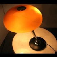 Modern White Mushroom Shade Table Lamp 10783 : Free Ship ...