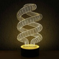 Modern Acrylic 3D LED Table Lamp 11969 : Free Ship! Browse ...