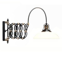 Bruno Scissor Arm Pharmacy Sconce 10177 : Free Ship ...
