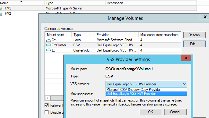 Veeam Failed To Create Vm Snapshot Error Createsnapshot Failed